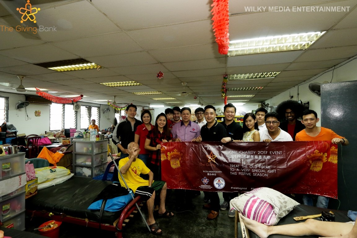 Chinese New Year Celebration with Old Folks
